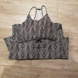 Razor-back Maxi Dress